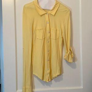 Michael Stars yellow shirt
